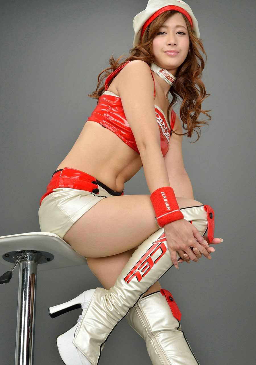 ami kawase sexy japanese race queen 04