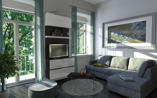 Salas Estilo Actual - Diseño y Decoración de Interiores