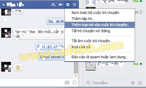 Cách chat nhóm trên Facebook - Group FB