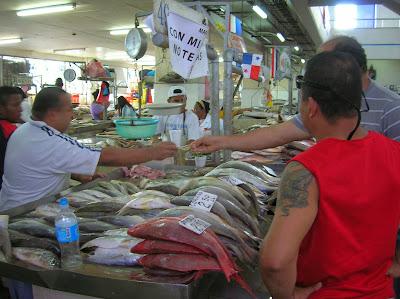 Mercado del Marisco, Panamá, round the world, La vuelta al mundo de Asun y Ricardo, mundoporlibre.com