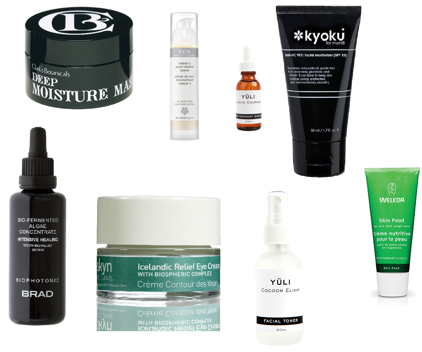 The Fetch Hunter: Winter Skin Care Essentials #1B7348
