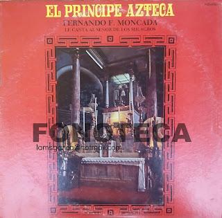 EL PRINCIPE AZTECA FERNANDO MONCADA LE CANTA AL SEÑOR DE LOS MILAGROS