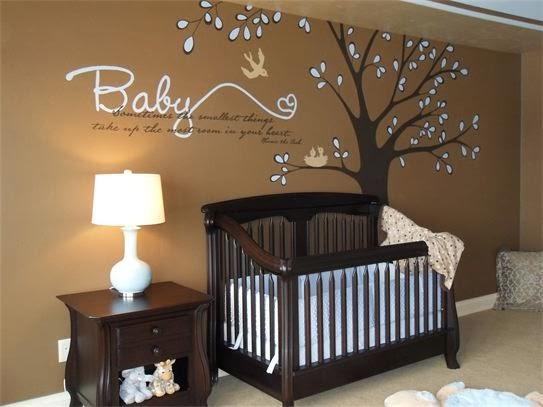Habitación de Bebé Otoñal.