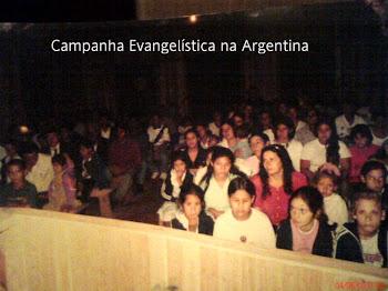 Campanha Evangelística na Argentina/Alícia Alta
