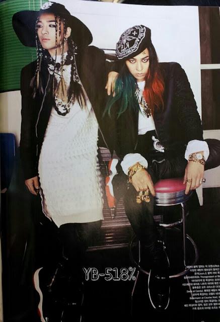 G-Dragon & Taeyang Majalah Vogue 05