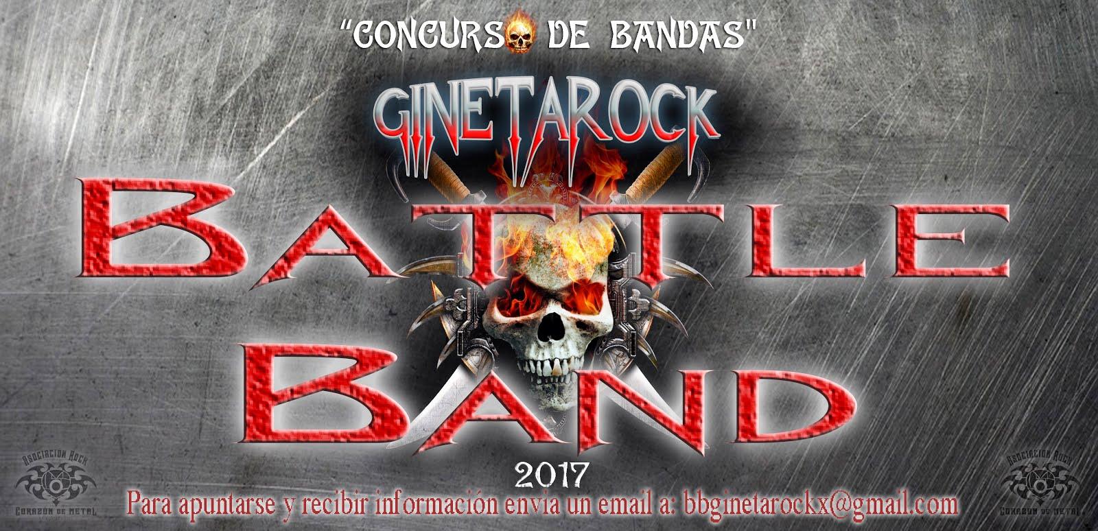 GINETAROCK 2017 · Concurso de Bandas