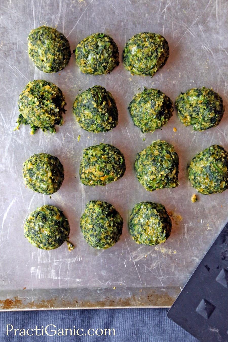 Spinach Bites