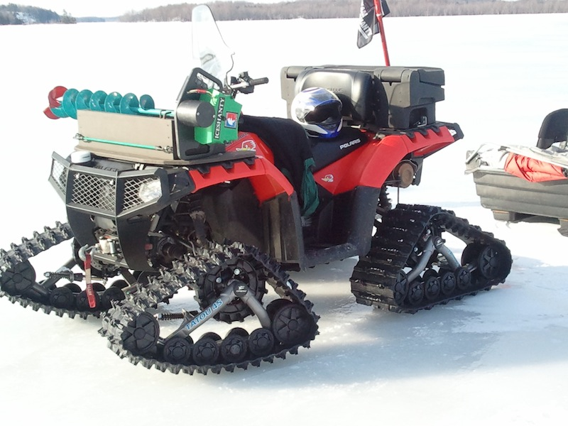 Auger valve image ice auger quad mount for Atv ice fishing accessories