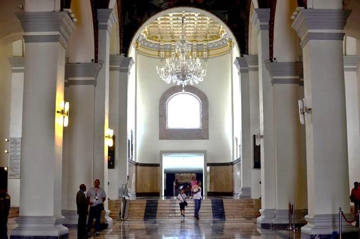 Ortofotos de las obras del pintor Tito Salas del Panteón Nacional