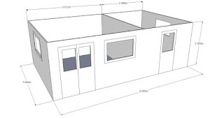 garden office CAD