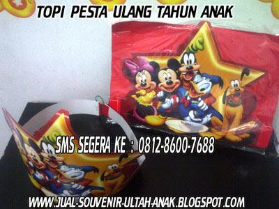 Harga Topi Pesta Ulang Tahun : Rp. 15.000,-/pack (isi 5pcs - hanya 1 ...