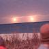Extraterrestres nos observam? Vídeo impressionante mostra dois Ovnis pairando sobre o oceano