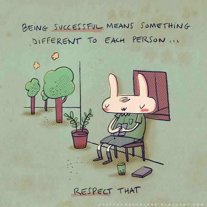 ser bem sucedido