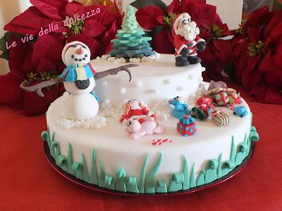 cake topper natalizio