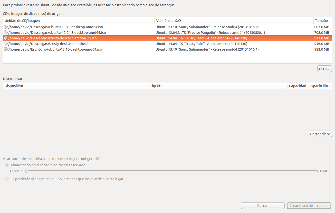 Crear USB live para instalar Ubuntu 14.04 LTS, instalar ubuntu en un pendrive