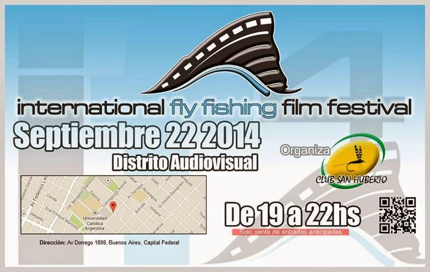 Area de pesca international fly fishing film festival en for Fly fishing film festival