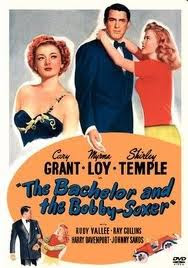 bachelor and bobby-soxer poster