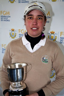 Marta Muñoz campeona Madrid 2012 Pitch & Putt