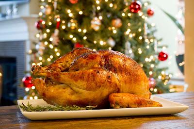 Por qué se come pavo en Navidad?