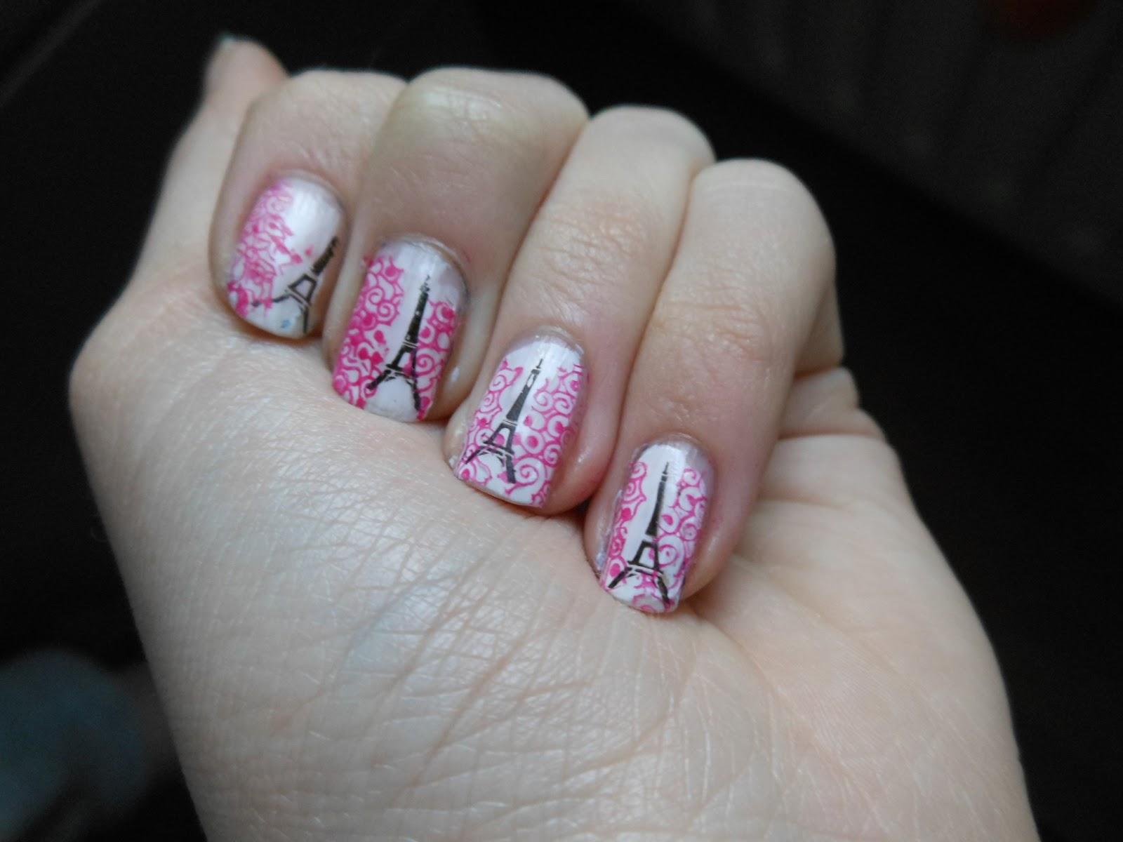 Brittthwnails Nail Art Paris Nails