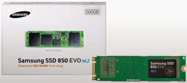 Samsung 850 EVO M.2