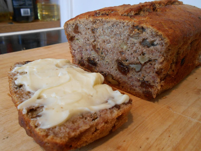 RECIPE: Gluten-Free & Sugar-Free JAMAICAN BANANA BREAD