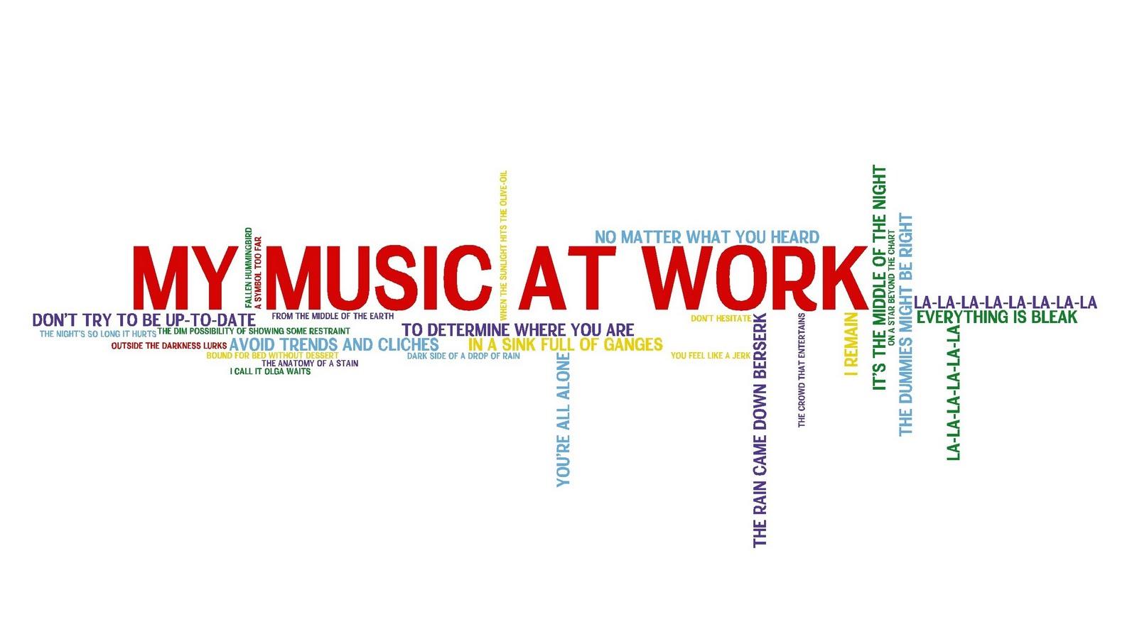 Hip Tour: My Music At Work - Lyrics