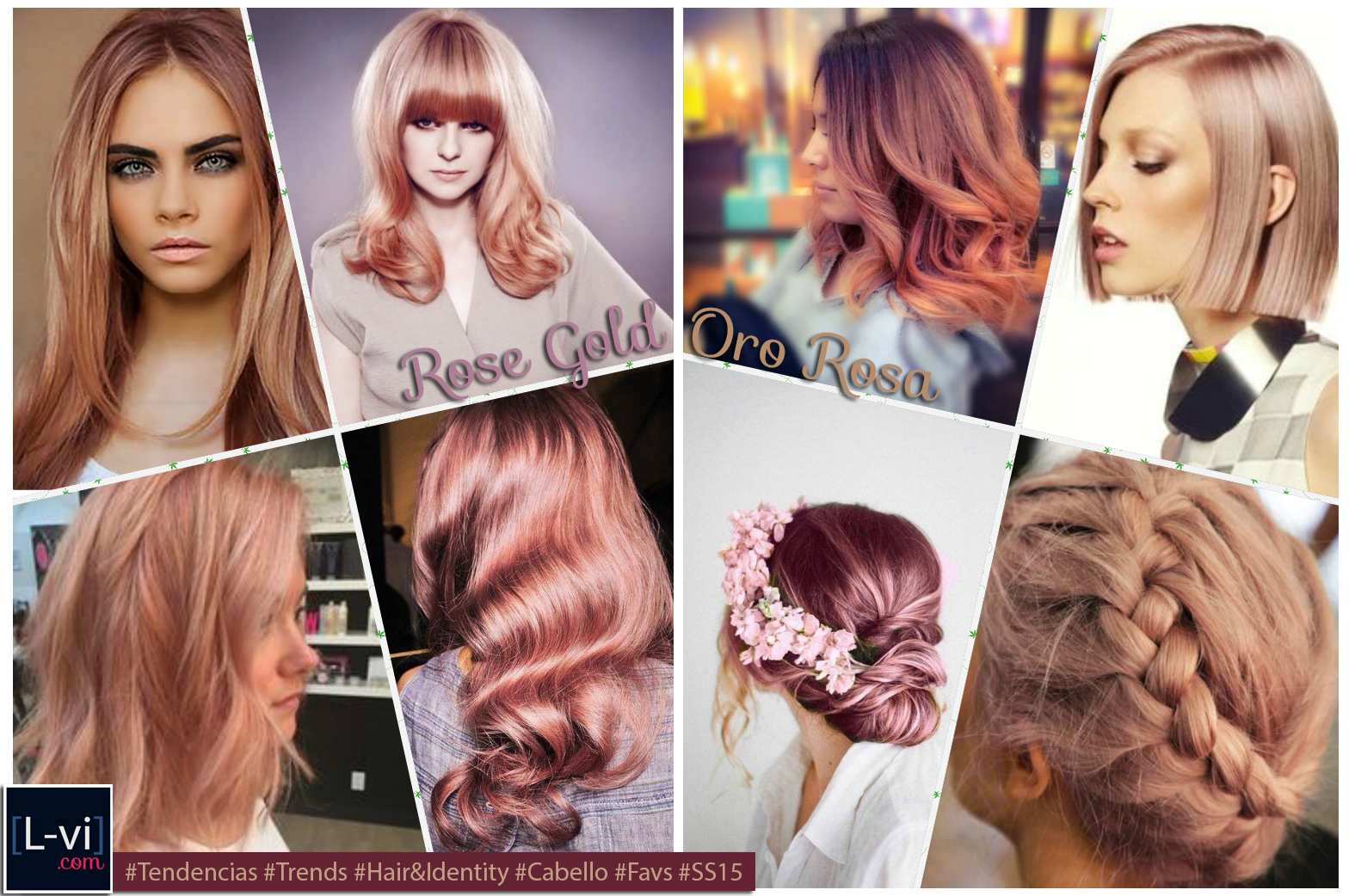[SS15] Hair Trends: Rose Gold  L-vi.com