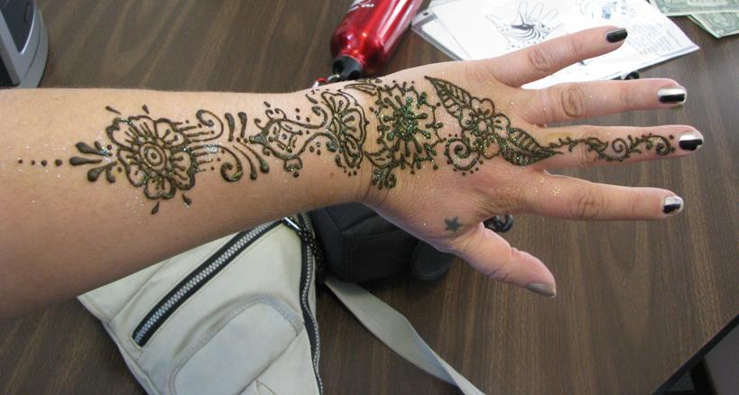 Henna Tattoo Kit Walmart : Henna tattoo body art designs gallery