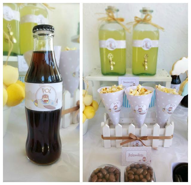 coca cola personalizada + limonada
