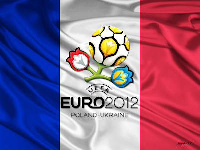Uefa Euro 2012 France Flag HD Desktop Wallpaper
