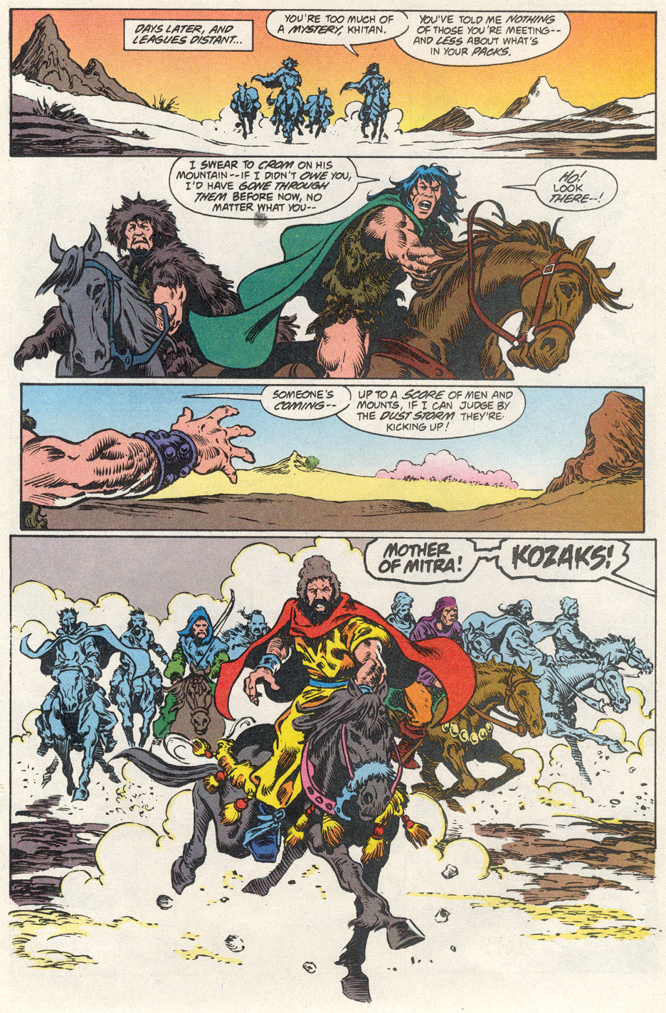 Conan the Barbarian (1970) Issue #275 #287 - English 23