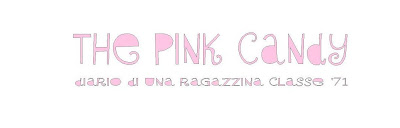 The pink candy