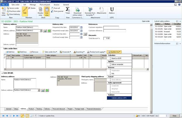Microsoft Dynamics AX 2012 WS Integration – USPS (Address ...