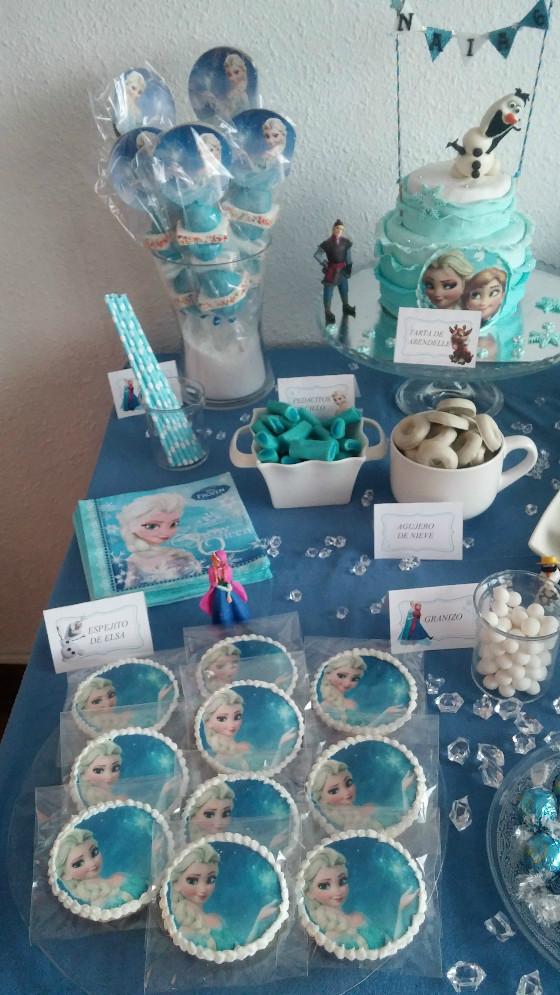 imagen_frozen_cumpleaños_casa_niña_azul_hielo_organizar_burgos_bilbao_tarta_olaf
