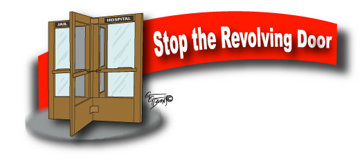 an analysis of the revolving door justice Marc pelka, the justice center's deputy director of state initiatives, said one focus that has emerged so far for consideration is how to slow the revolving door of the criminal justice system.