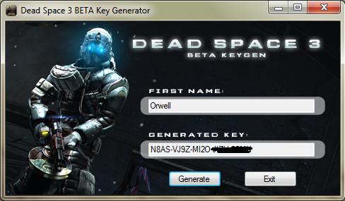 Dead Space 2 Keygen Exe