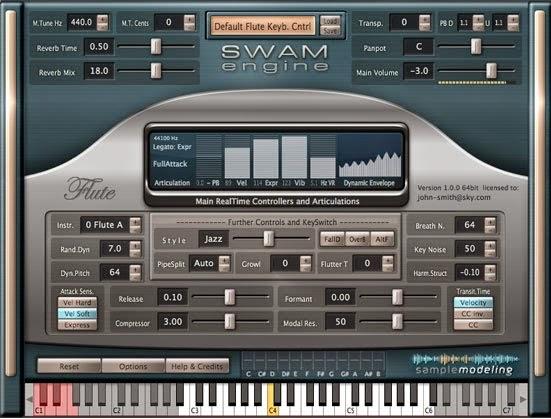 Sample modeling seruling lengkap semua jenis suara