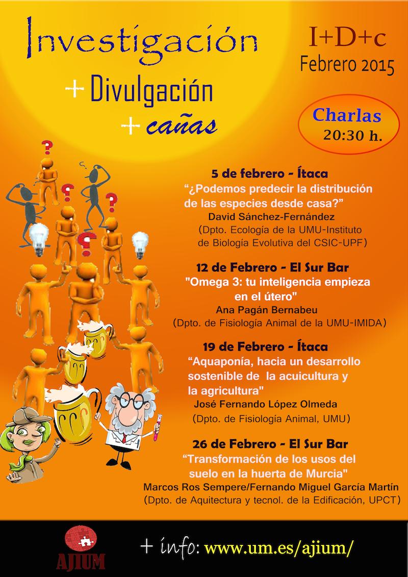 """""""Charlas divulgativas I+D+c""""."""