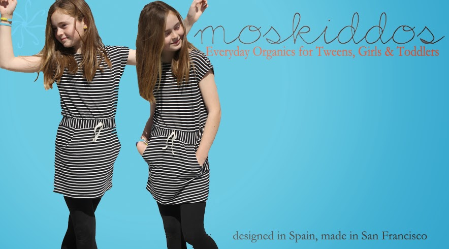 moskiddos everyday organics, girls knit dress, tween, toddler, made in use, noe dress, cotton