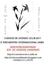 2º Encuentro Internacional de Haiku - Aýna (Albacete) 2011