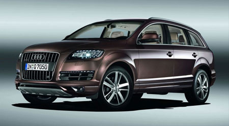 Home Car Collections Seater Cars Enter Audi Q - Audi car 7 seater