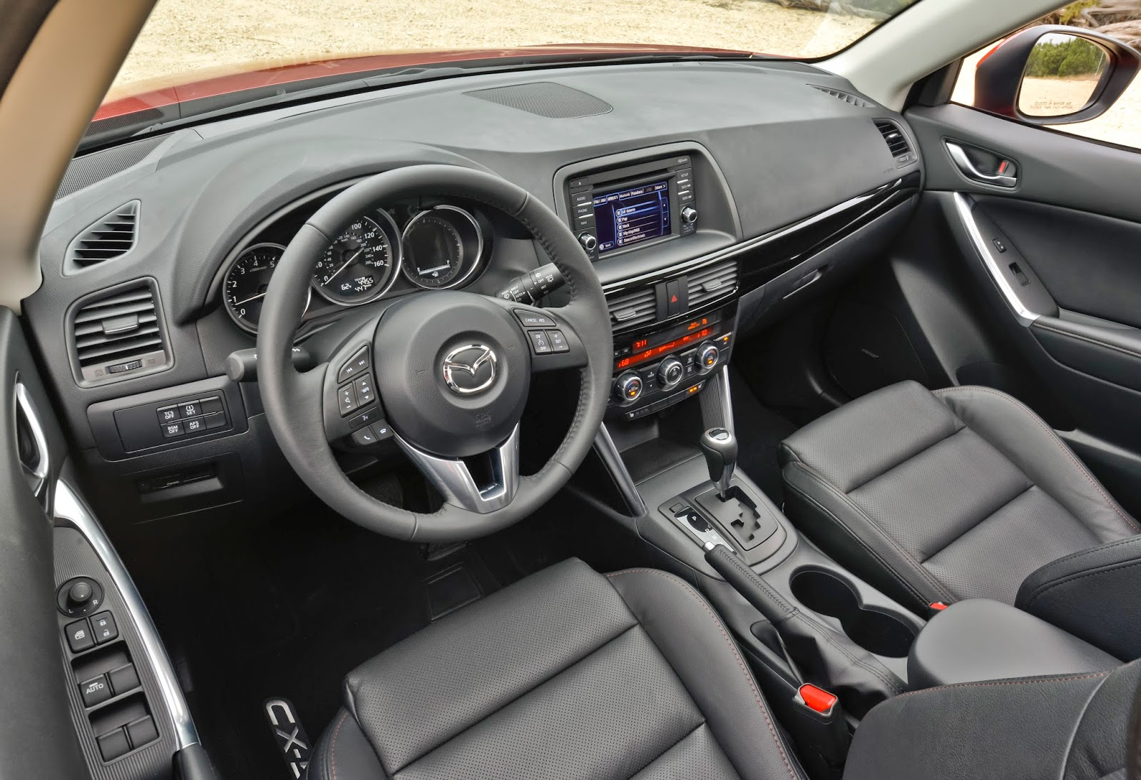 Interior view of 2015 Mazda CX-5