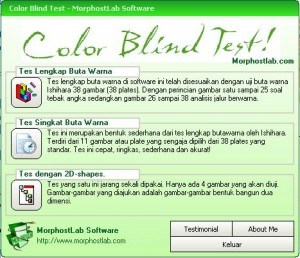 Software Buta warna