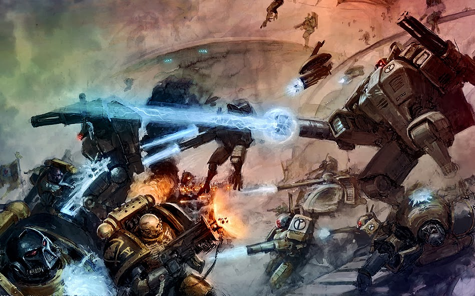 The first of this weeks releases have been revealed to us, and its Apocalypse Warzone Damocles. Its been awhile since we have seen a new Apocalypse release, ...