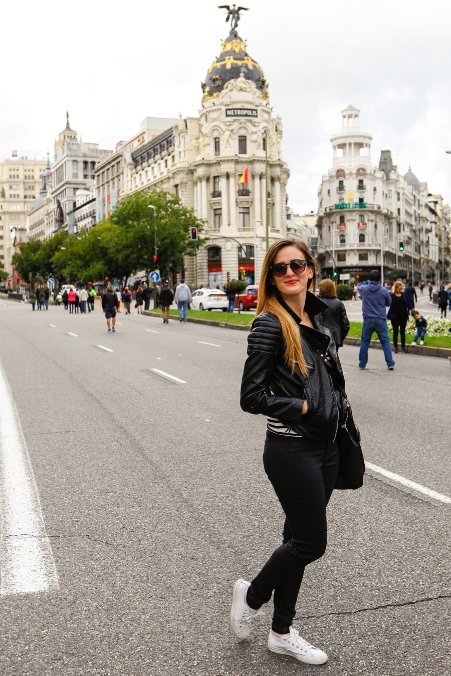 Levitate Style, Levitate Travel, His & Her, Stripes, Alicia Mara, menswear, Madrid Spain Travel