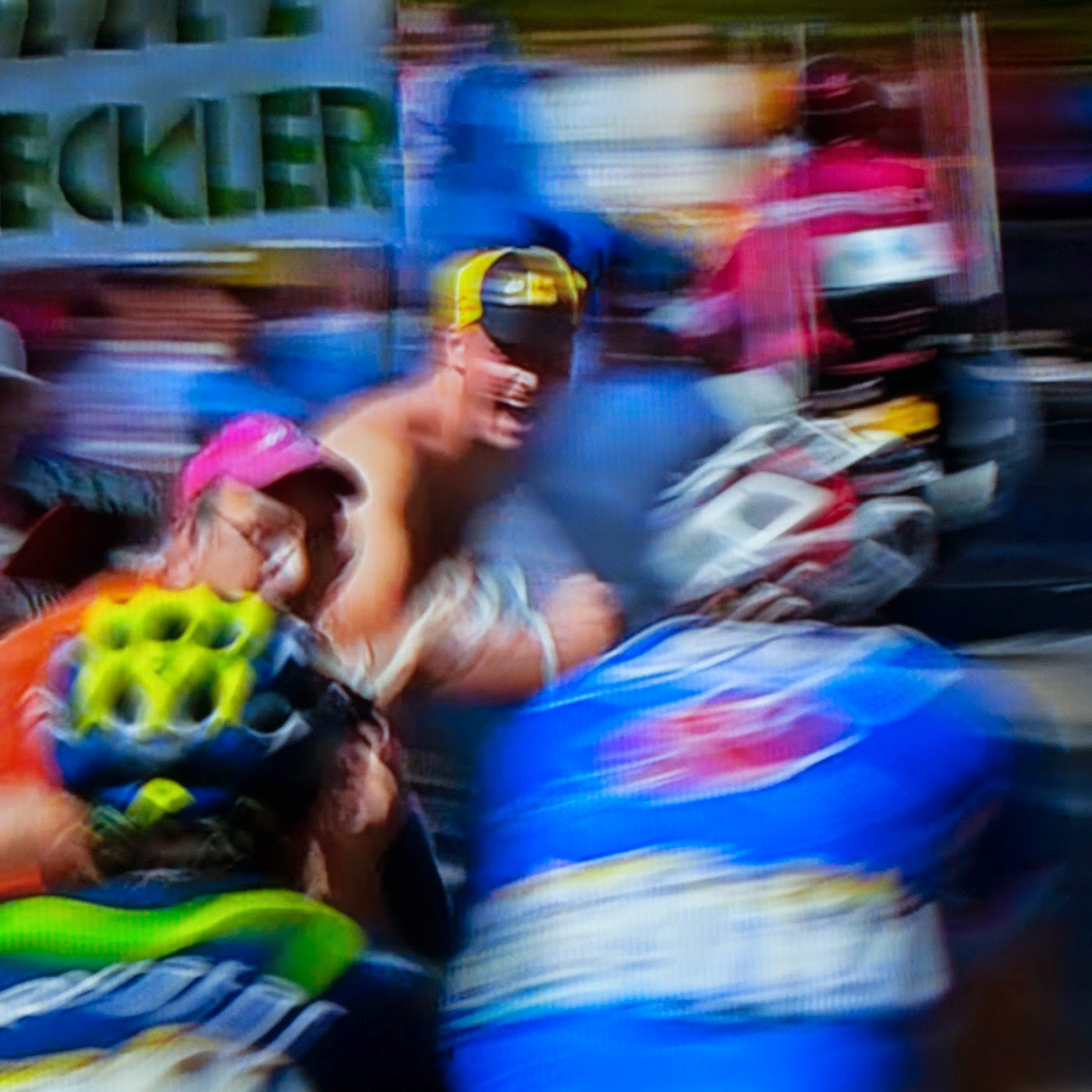 le tour, motion blur, blur, abstract, abstraction, tim macauley, photographic art, you won't see this at MoMA, appropriation, found imagery, le tour 2014, tv footage, portrait, crowd, crowd shot, spectators