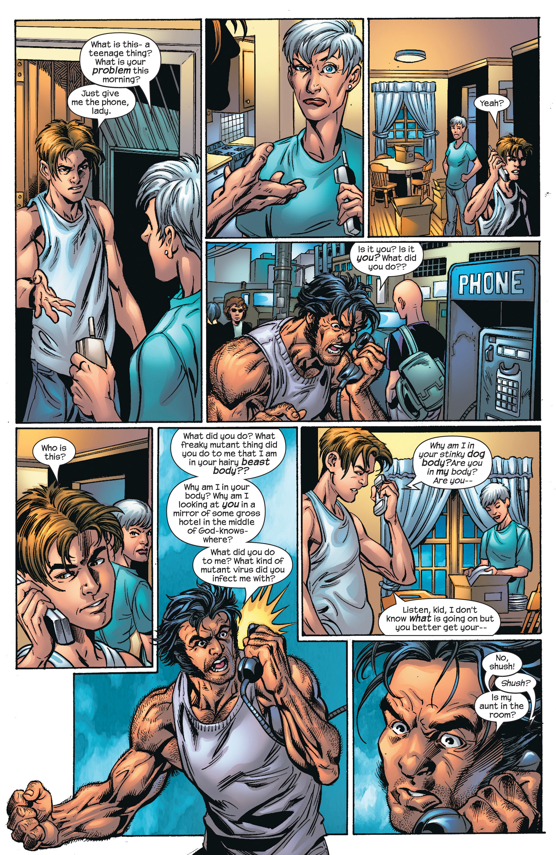 Ultimate Spider-Man (2000) Issue #66 #70 - English 10