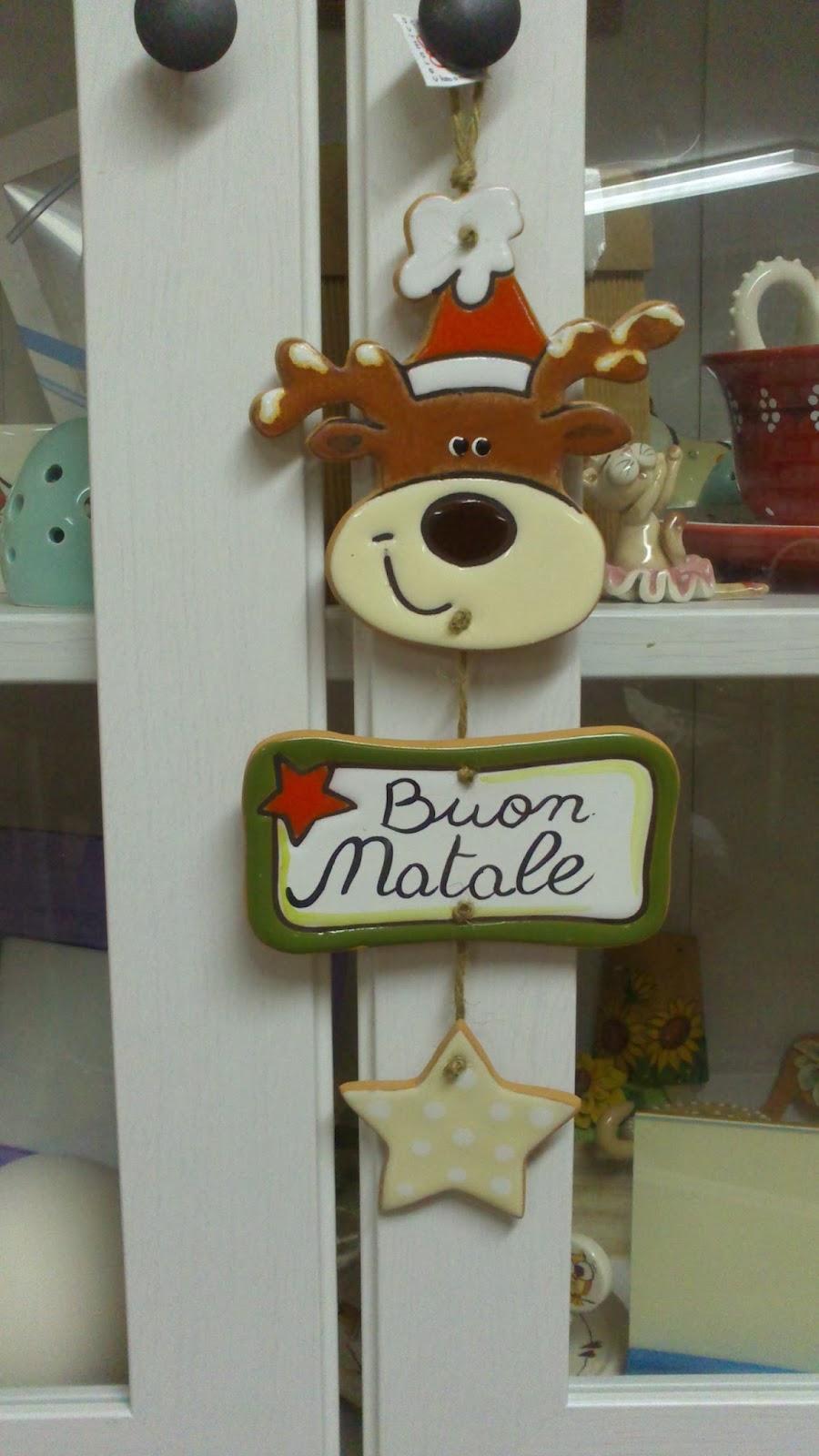 Ceramica come mestiere decorazioni natalizie per fuori - Babbo natale modello artigianale ...