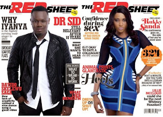 Dr Sid and Rukky Sanda Stuns in New Cover for Red Sheet